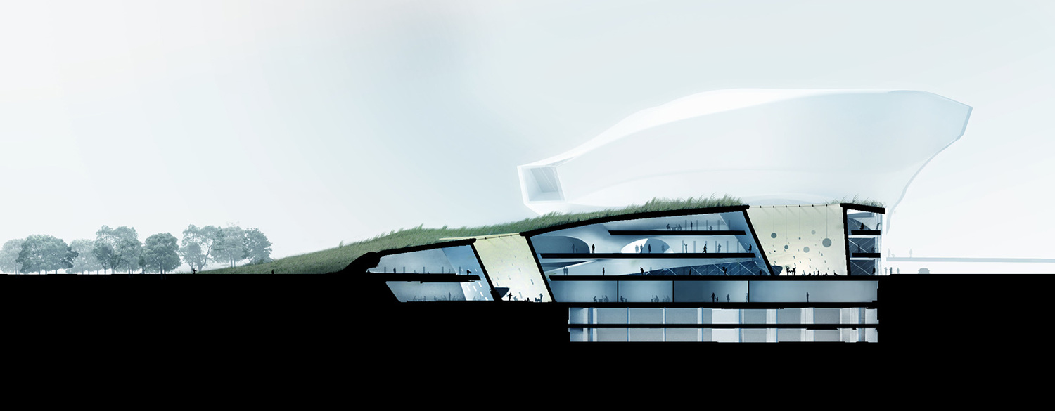 Taichung city cultural center entry by patrick tighe for Smr landscape architects