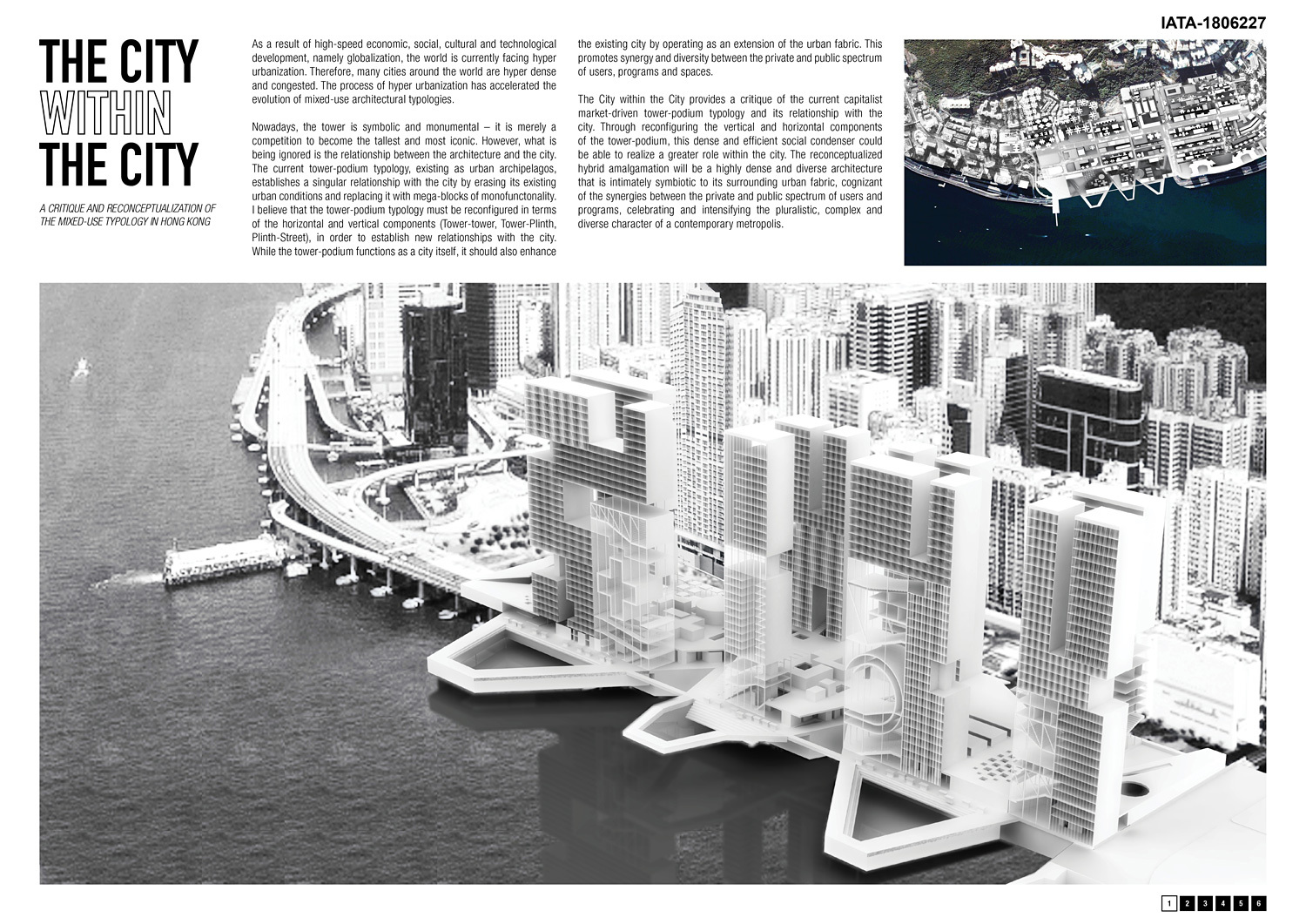 award winning architectural thesis I take 8 undergraduate students every year through the process of architectural thesis as a partial requirement to obtaining a graduate degree in architecture.