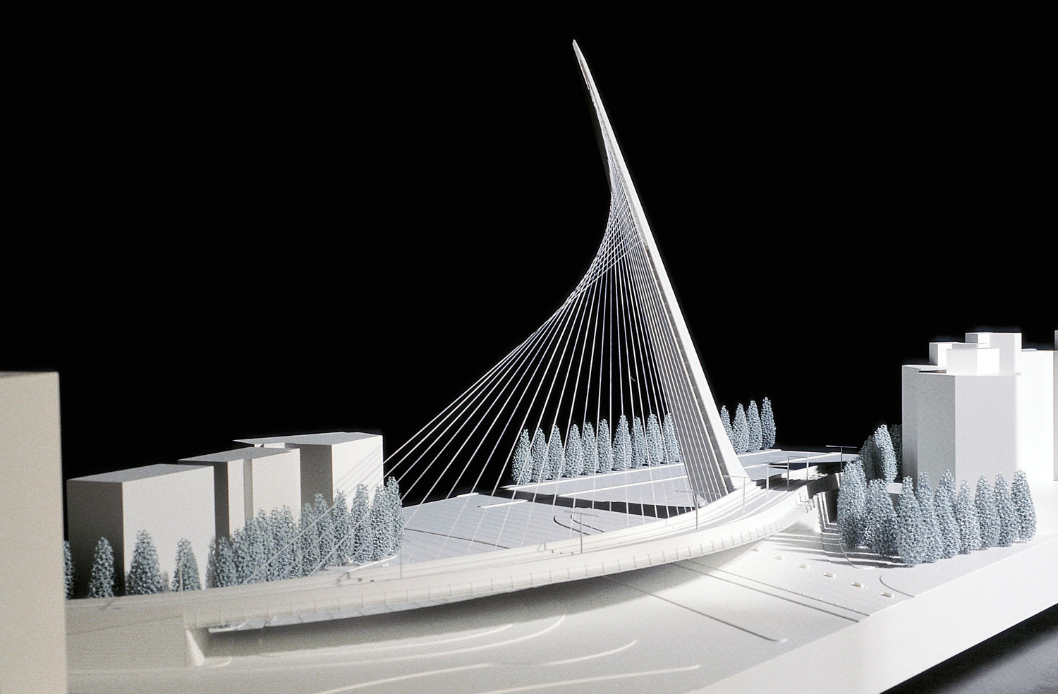 Cascade Floor Plan Santiago Calatrava Exhibition Now Open In Vatican City