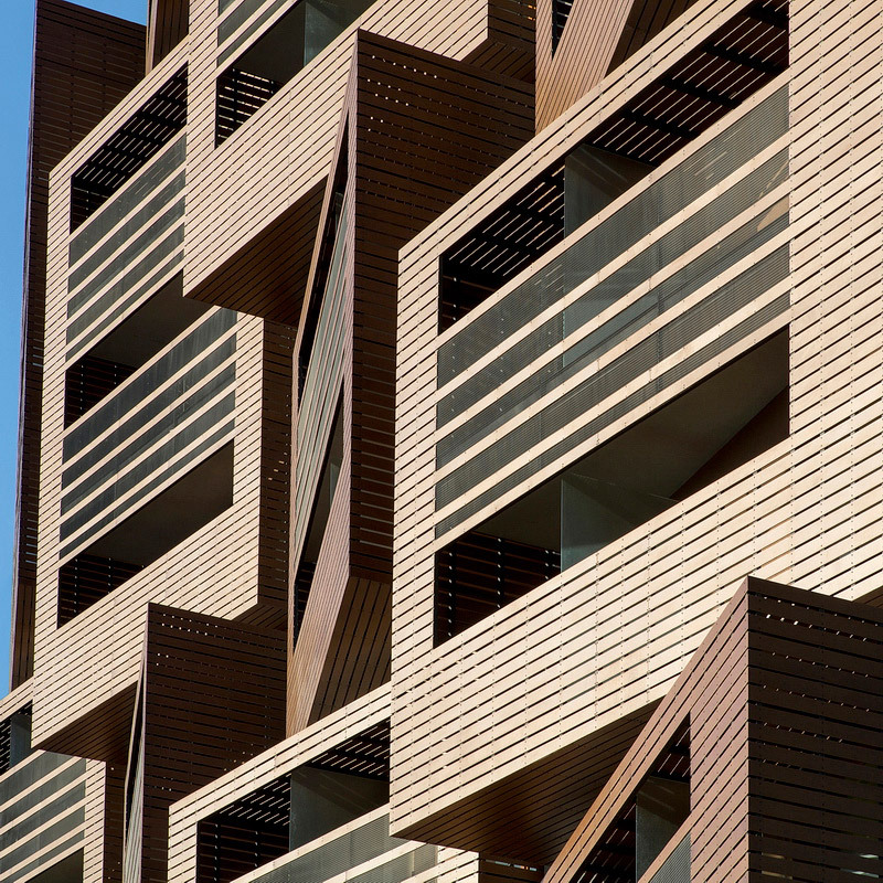 Ofis arhitekti finish basket apartments in paris for Ofis arhitekti