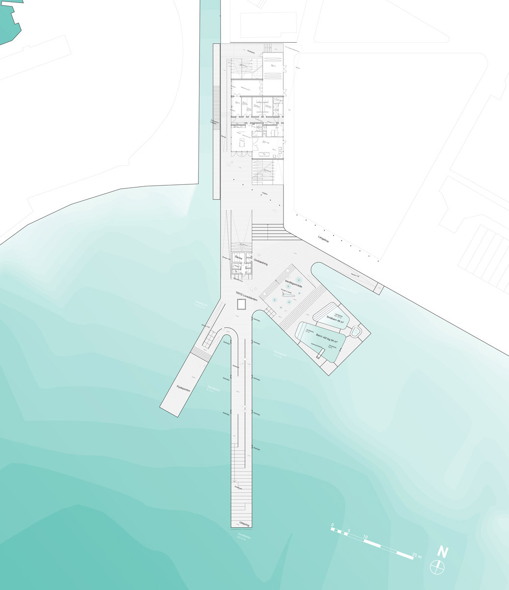 Faaborg Harbour Bath And Blue Base By Jds Klar Creo
