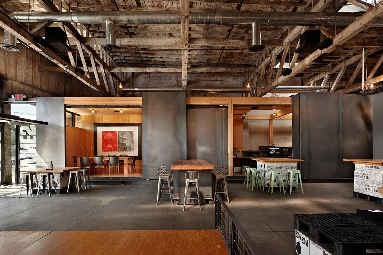 Charles Smith Wines Tasting Room And World Headquarters Walla WA Photo Benjamin Benschneider
