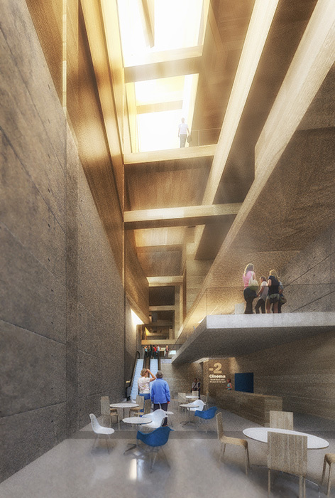 Helsinki central library entry by aakaa mars architectes for Junior interior designer jobs nyc