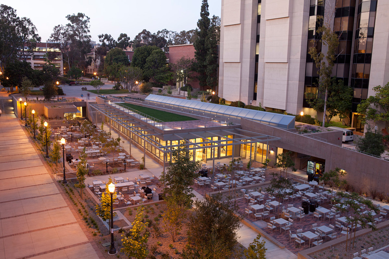 Education Award: University Of California Los Angeles Court Of Sciences  Student Center