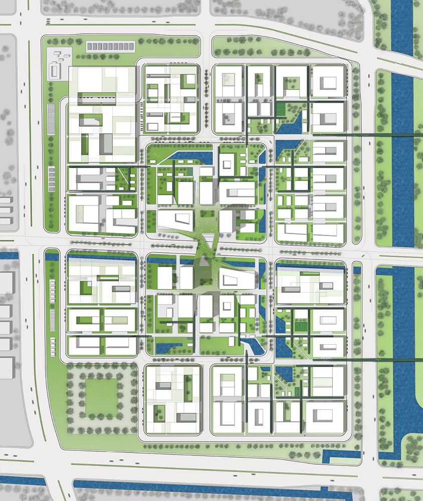 Master Plan Drawings: Henn Architekten To Design Suzhou 'Nano-Polis Master Plan