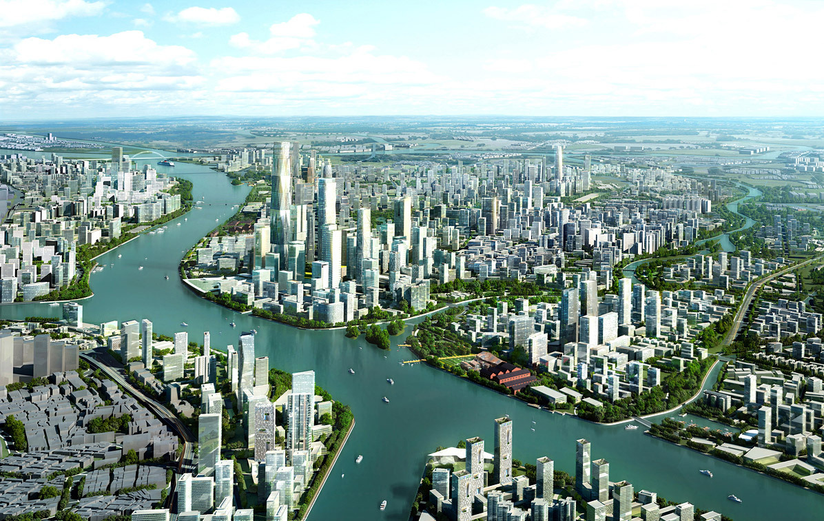 Skidmore owings merrill s baietan master plan awarded Urban planning and design for the american city