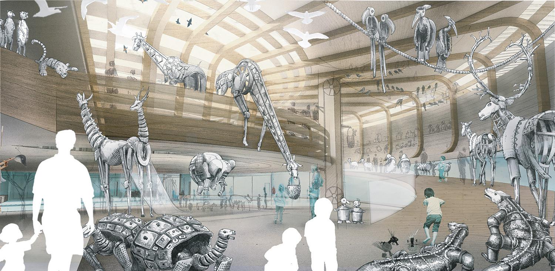 First Glimpse Olson Kundig S Winning Noah S Ark Concept