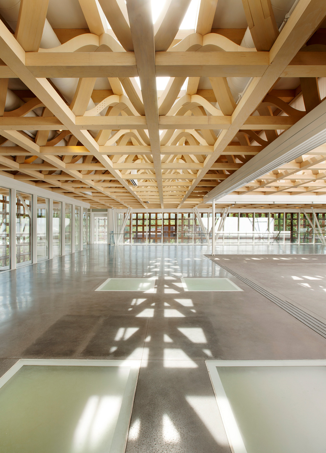the new shigeru ban designed aspen art museum to host 24 hour public opening on august 9. Black Bedroom Furniture Sets. Home Design Ideas