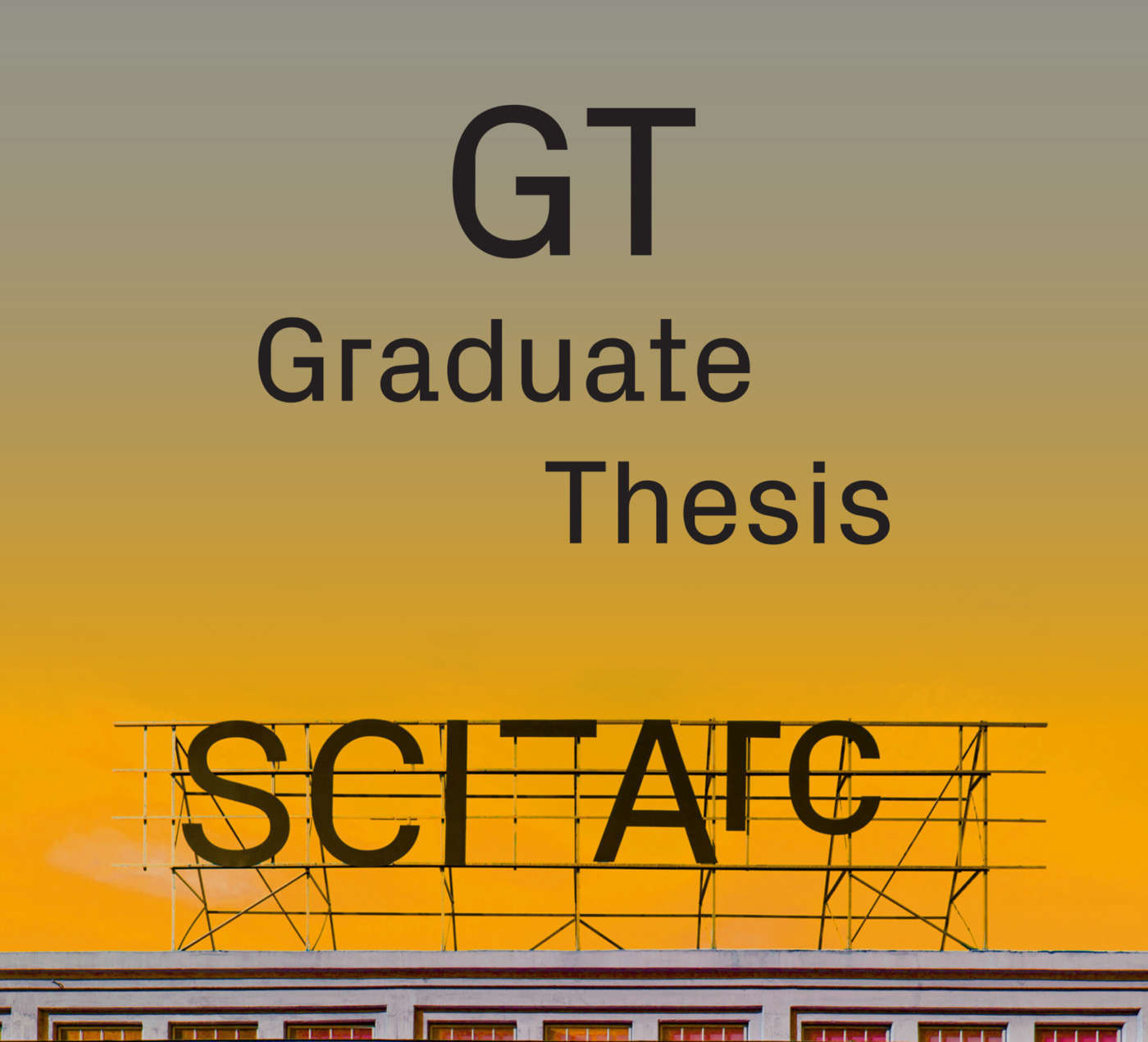 sci arc thesis week