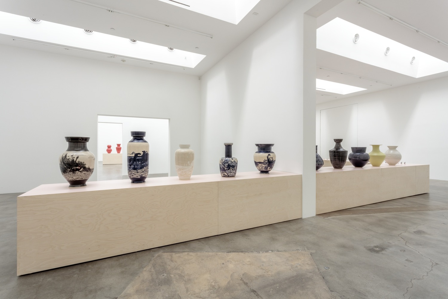 Ceramic Experimentations Comes Together In A Collective Rhythm This Special Solo Show Of Japanese Born And Los Angeles Based Artist Shio Kusaka
