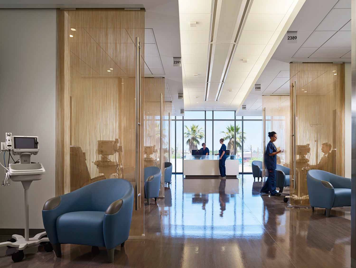 At Dignity Health St Josephs Hospital And Medical Center Phoenix By ZGF Architects LLP Photo Courtesy Of AIA National Healthcare Design Awards