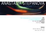 Anastasia Stepanova