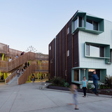Broadway Affordable Housing; Santa Monica - Kevin Daly Architects. Photo © Iwan Baan