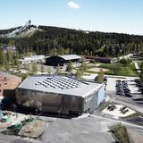 ADEPT Dalarna University library (exterior) photo by Kaare Viemose