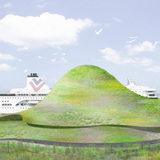 Port of Kinmen 1st prize entry by Junya Ishigami + Associates/ Junya Ishigami WITH Bio Architecture Formosana Architecture / Ching-Hwa Chang