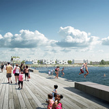 White Arkitekter: View from pier