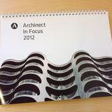 Archinect In Focus 2012 calendar via Paul Petrunia