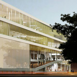 Zoom of west facade (Image: Kubota & Bachmann Architects+Martinez)