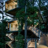 Sustainability Treehouse; Glen Jean, West Virginia Design Architect: Mithun; Executive Architect/Architect of Record: BNIM. Photo Credit: Joe Fletcher