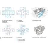 The Times Eureka Pavilion - pattern study diagram