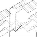Axonometric. Image courtesy of Tham & Videgård Arkitekter