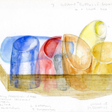 Bottles of Light sketch for Chapel St. Ignatius at Seattle University. Courtesy of Steven Holl Architects.