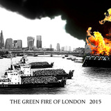 Green Fire of London by Ben Weir - Overall winner of the Folly for London competition. Image courtesy of the A Folly for London competition.