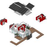 Retrofitting diagram for the Illawarra Flame House. Photo via illawarraflame.com.au