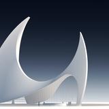 a proposal for a mosque in Qatar via Nir Ben Natan