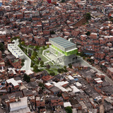 Global Holcim Awards Silver 2012: Urban remediation and civic infrastructure hub, São Paulo, Brazil by Alfredo Brillembourg and Hubert Klumpner, Urban Think Tank, Brazil: Transforming a void into a productive zone and dynamic public space. (Image © Holcim Foundation)