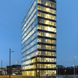 V' Tower in Eindhoven, the Netherlands by Wiel Arets Architects