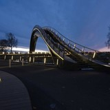 Melkwegbridge in Purmerend, The Netherlands by NEXT Architects via AwesomeArchitecture