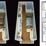 Plan for SF micro-apartments, courtesy of The Architect's Newspaper.