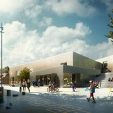 Future projects education winner: The Urban School in Elsinore, Denmark by EFFEKT. Image courtesy of WAF.