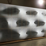 Frontview of Kinetic Wall by Barkow Leibinger at the Venice Biennale 2014. Photo © Johannes Foerster