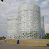 Herzog & de Meuron- Cottbus Technical University Library, Cottbus, Germany, 2005 via Derek Kaplan