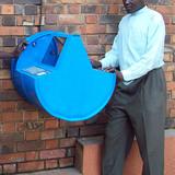Digital Drum: Concept: Khalid Arbab (Sudan), UNICEF; prototype 1: Jean-Marc Lefébure (Belgium), UNICEF, and Grant Cambridge (South Africa), Council for Scientific and Industrial Research Meraka; prototype 2: Jean-Marc Lefébure, UNICEF; prototype 3: Seth Herr (USA) and Jean-Marc Lefébure...