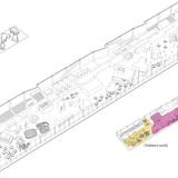 Axonometric view of the second floor (Image: AAKAA & MARS Architectes)