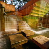 Peavey Plaza - The fountains of Peavey Plaza. Credit: Keri Pickett, courtesy The Cultural Landscape Foundation