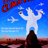 In this poster publicizing a protest at Heathrow Airport organized by the Camp for Climate Action, artist Rachel Bull depicted 30 St Mary Axe as an ambivalent climate change icon courting risks beyond its capacity to manage. Climate Camp (artist: Rachel Bull). The Camp for Climate Action...