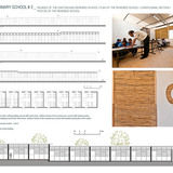 Holcim Silver Award: Sustainable refurbishment of a primary school: Design drawings/photos.