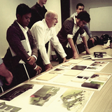 Tony Van Raat [Head of Dept. Architecture @ Unitec and NZIA associate] present at the client meeting on Wednesday
