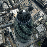 30 St Mary Axe aka Gherkin by Dan Chung for The Guardian