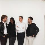 Aldric Beckmann, Françoise N'Thépé (Beckmann N'Thépé), Bruno Tanant, Jean Christophe Nani ( TN Plus). © Olivier Amsellem