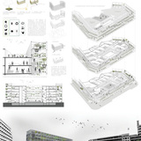 Third Prize: Margaux Leycuras, Adrien Girard (Ecole Nationale Supérieure d'Architecture of Nantes, France)