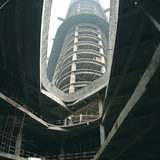 Construction of Zhongxun Times by 10 Design. Photo courtesy of 10 Design