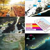 Rebuild By Design winners (clockwise from upper left corner): BIG Team; Interboro Team; OMA; SCAPE / Landscape Architecture; PennDesign/OLIN; MIT CAU + ZUS + URBANISTEN