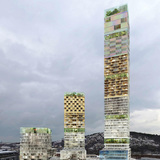 Ursa, proposal #1 of the anonymously submitted proposals for the Gothenburg tower in Sweden.