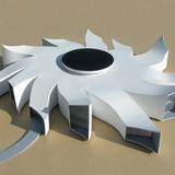 Michael Jantzen's latest conceptual building design, The Black Hole Research Center.