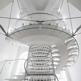 Somerset House, The Miles Stair, London, United Kingdom. Structural Designer: Techniker. Photo: Richard Davies.